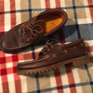 Vintage timberland chukka shoes made in USA
